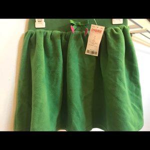 Fleece Gymboree Skirt w/ embroidered bow waist
